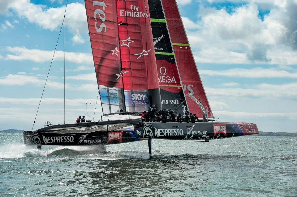 Emirates Team New Zealand and BIG Innovation graphic