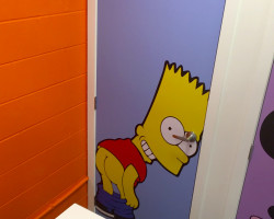 BIG toilet doors