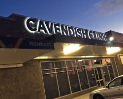 Cavendish Clinic Illuminated Signage