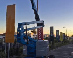 Cavendish Clinic roadside signs