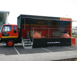 Tui Corporate Box Truck