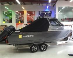 Custom boat name