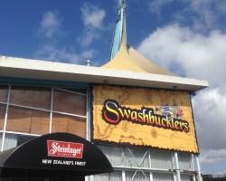 Swashbucklers signage revamp