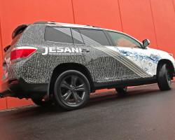 Jesani vehicle wrap