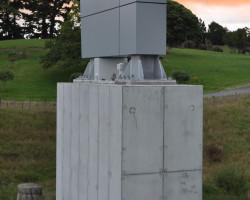 Massey University megastructure plinth