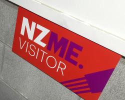 NZME. parking sign