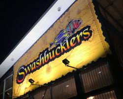 Swashbucklers building signage