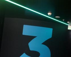 TVNZ wayfinding signage