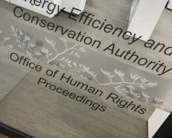 Human Rights Commission window graphics