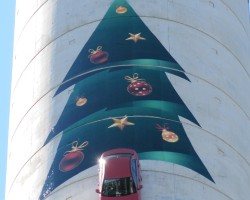 SkyTower Christmas Tree