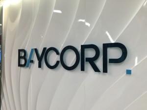 Baycorp office signage