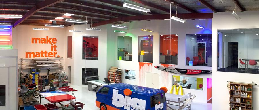 BIG's new office fitout