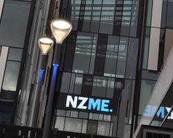 NZME. illuminated signage