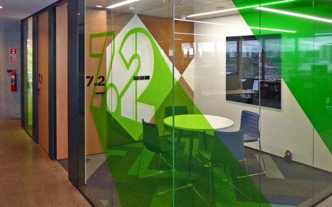 TVNZ Meeting Room Signage