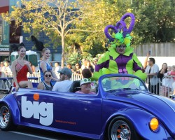 Pride Parade exposure
