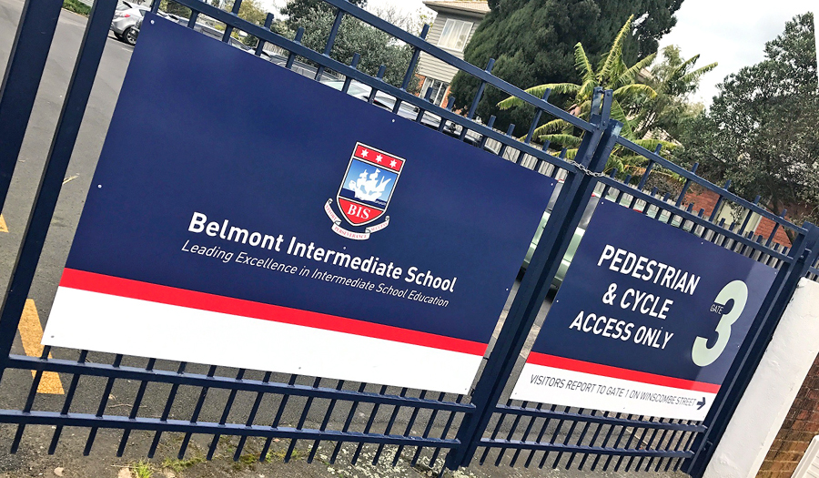 School information signs graphic