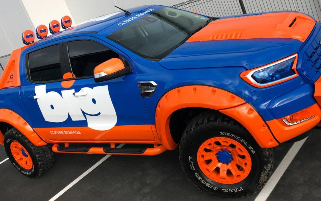 A monster truck for BIG kids