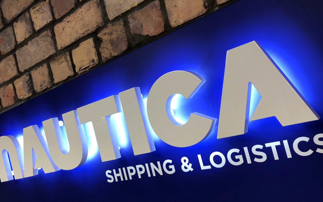 Nautica office signage