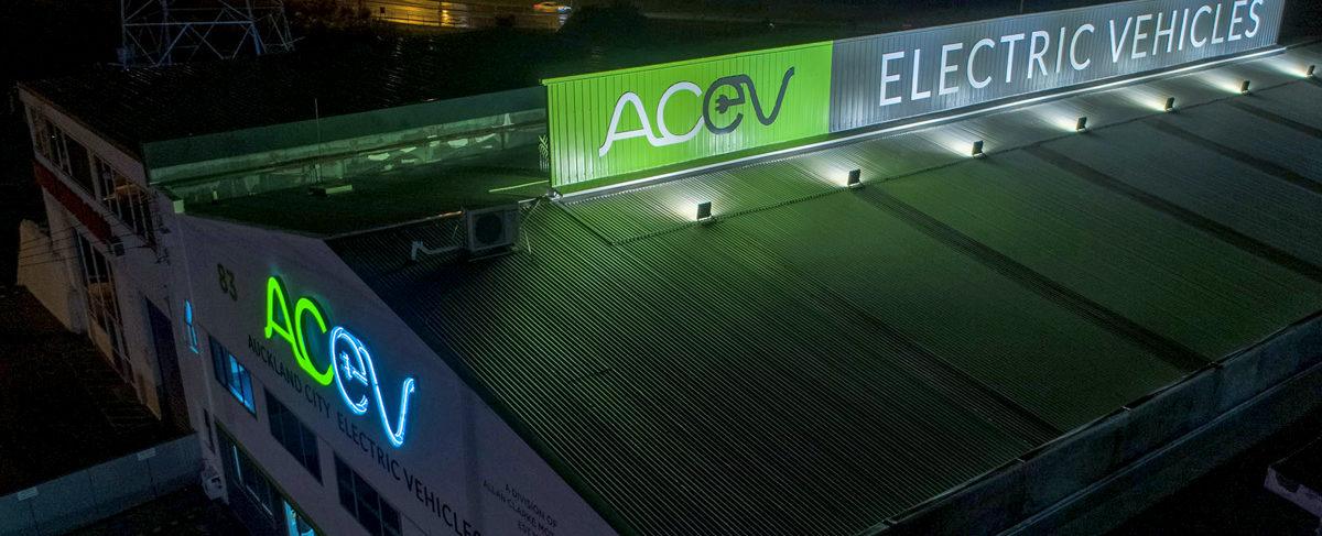 ACEV illuminated signs