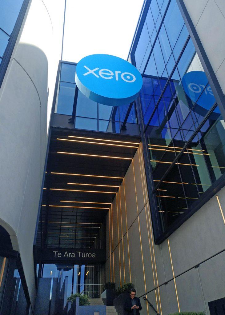 Xero suspended signage