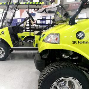 St Johns golf carts