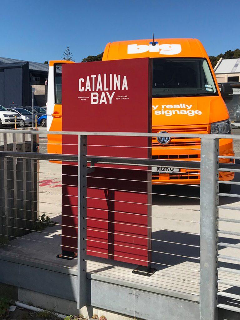 Catalina Bay free-standing plinths