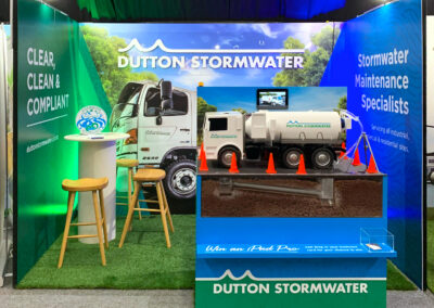 Dutton Stormwater trade show