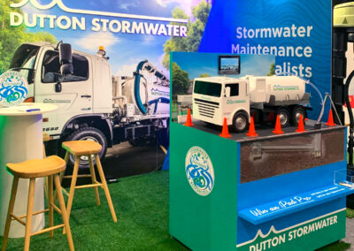 Dutton Stormwater trade show stand