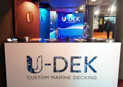 U-Dek display stand
